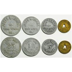 West Virginia Tokens  (114587)
