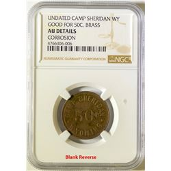 Camp Sheridan Token  (116013)