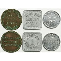 Canadian Tokens  (114583)