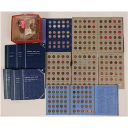 Lincoln Head Cent Whitman Folder Accumulation  (117612)