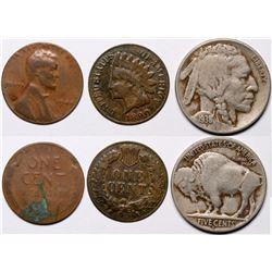 Three Error Coins  (117046)