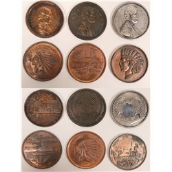 Oversize Advertising Souvenir Pennies California  (117265)
