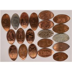 Elongated Fresno Cent Collection  (116530)