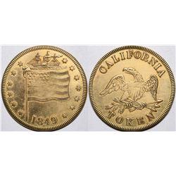 1849 California Token  (115418)