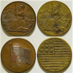 Eureka/American Flag Counters  (116021)