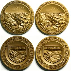 Grand Canyon National Park 50th Anniversary Medals  (114579)