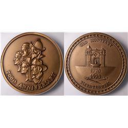 Bicentennial Old Monterey Medal  (116391)