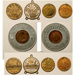 1906 Earthquake and Fire Medal Collection  (115779)