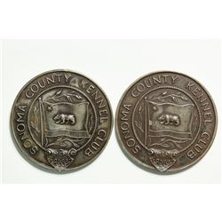 Sonoma County Kennel Club Sterling Silver Medals  (114615)