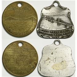 Golden Gate/Bay Bridge Medals  (114611)