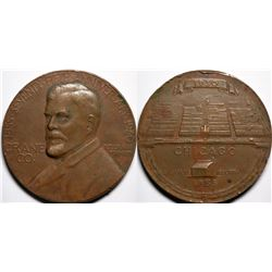 Crane Co 75th Anniv Medal, by John Sinnock  (116184)