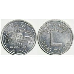 Louis L. Emmerson Campaign Medal  (114603)