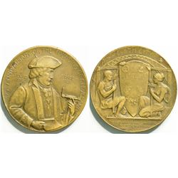 Founding of Cleveland Commemorative Medal  (114729)