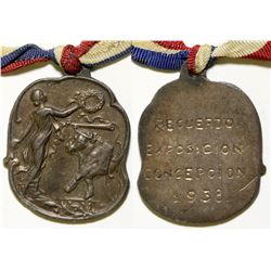 Spanish Exposition Medal  (108621)