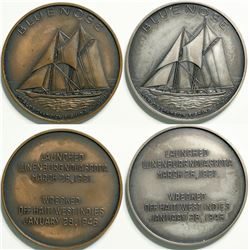 Bluenose Fishing Schooner Medals  (114626)