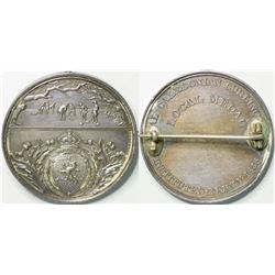 Caleldonian Curling Silver Medal  (114825)