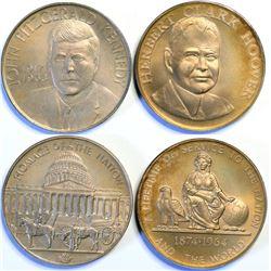Heraldic Art Silver Presidential Medals  (114613)