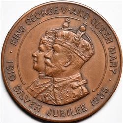 King George V and Queen Mary Silver Jubilee Medal  (116186)