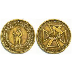 Knights Templar Medal  (114408)
