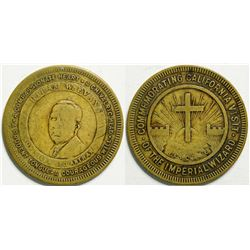 Ku Klux Klan Medal  (114412)