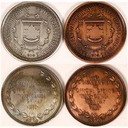 Trans Canada Highway Commemorative Medals  (116484)