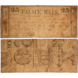 Palace Mills 25 Cent Note  (58158)