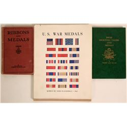Three Books about Medals  (115246)