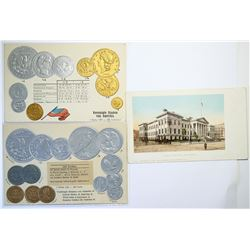 Coins of the U.S. Post Cards  (114740)