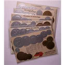 International Coin Post Cards  (114723)