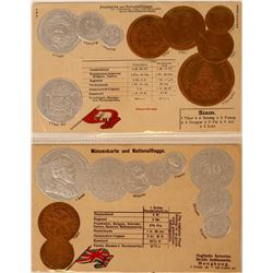 International Coin Post Cards  (114735)
