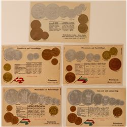 International Coin Post Cards   (114734)