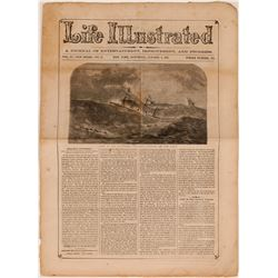S.S. Central America Newspaper Report of Sinking  (116390)