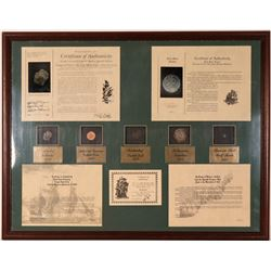 Recovered Sunken Treasure Framed Display  (116406)