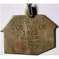 City of Dos Palos Dog Tag  (116509)