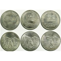 Three souvenir tokens celebrating the Bear Festival of Idlewylde, California  (114422)