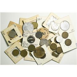 Die Sinker tokens from San Francisco 1890's-1930's  (109019)