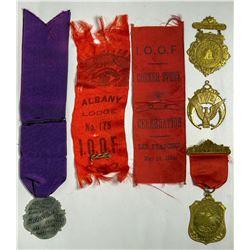 I.O.O.F. Badges  (114993)