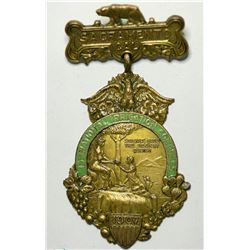 National Irrigation Congress Souvenir Badge  (114996)