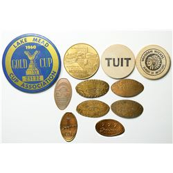 Nevada Medals and Wooden Nickels  (114823)