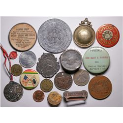 Token and Medal Group Miscellaneous  (115400)