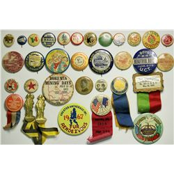Antique Pinback Button Collection  (114959)