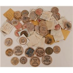 Fresno Wooden Nickel Collection  (116404)
