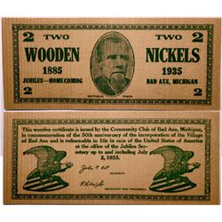 Two Wooden Nickels  (114403)
