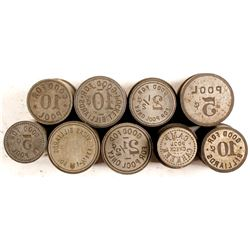 Pool Room, Billiards Token Dies  (84642)