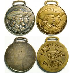 Buffalo Bill/Pawnee Bill Medals  (114325)