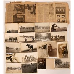 Salinas Rodeo Real Photo Postcards and Ephemera  (115329)