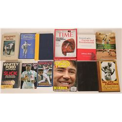 Collection of Sporting Books and magazines  (115422)