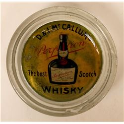 Rare Reverse Glass  Whiskey_ D & J. McCallum's Scotch Whisky  (115396)