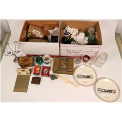 Advertising Collectibles, Two Boxes  (117062)