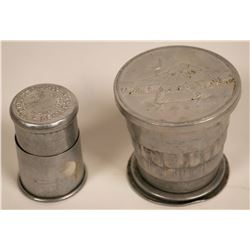 Collapsable Aluminum Drinking Cups  (116003)